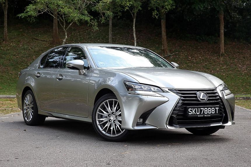 The Lexus GS200t offers both power and refinement.