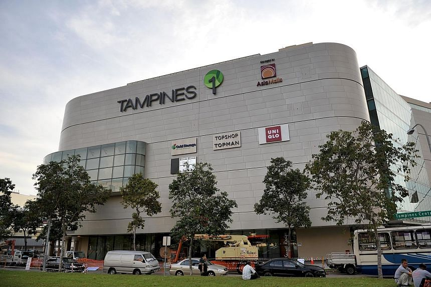 "Ms Diana (above) filed a police report yesterday against Tampines 1 mall (below). The mall has apologised to her, saying the worker who replied to her had been ""dealt with appropriately""."