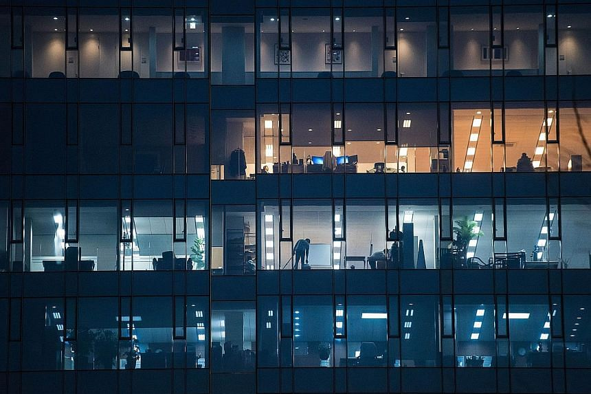 """A """"regressive"""" corporate culture characterised by chronic late-night working hours and irrational performance evaluation systems has made Korea among the longest-working but least-productive countries in the world, reports say."""