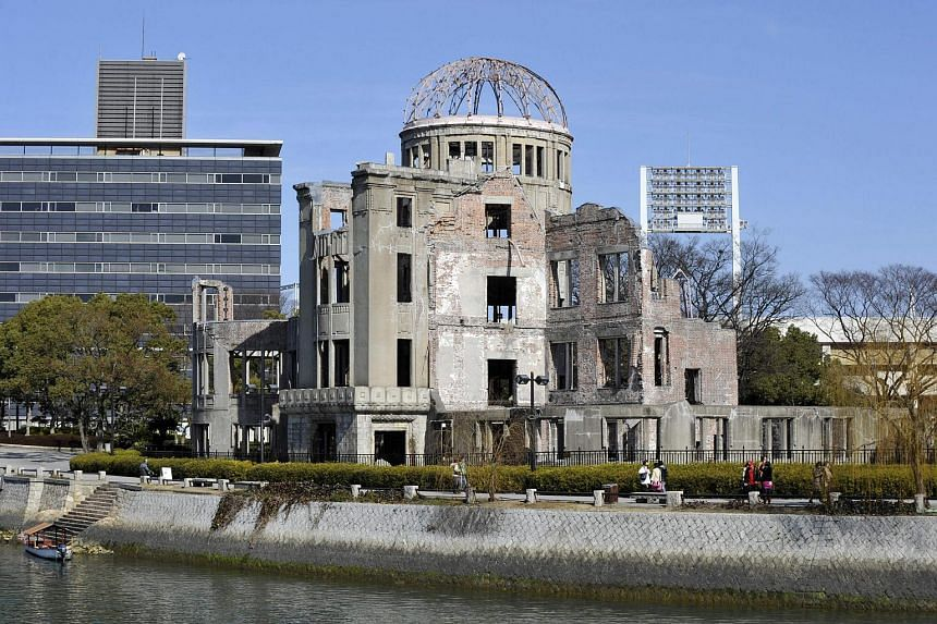 The Atomic Bomb Dome at the Peace Memoral Park in Hiroshima, on Feb 7, 2010.