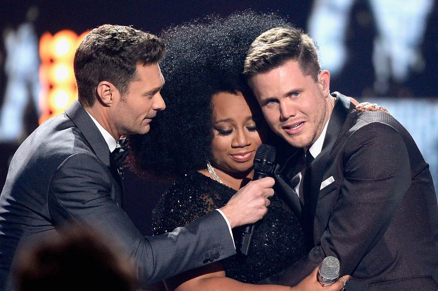 Mississippi native Trent Harmon (far right, with host Ryan Seacrest and runner-up La'Porsha Renae) on Thursday became the last winner of the American Idol contest, as the show bowed out after 15 seasons. It was a night of nostalgia at the Dolby The