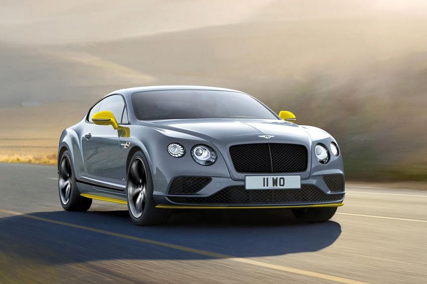 Continental GT Speed Black Edition.