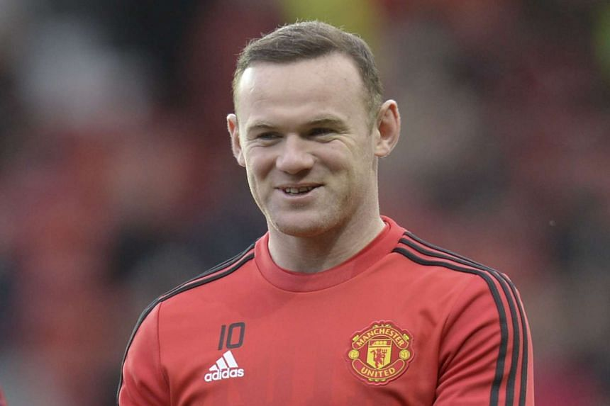 Manchester United captain Wayne Rooney.