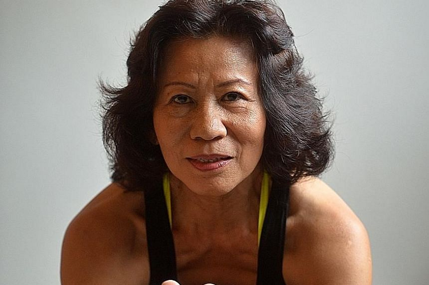 Ms Chan sells 10-lesson packages from $80 to $100 a session and conducts group sessions. Each lesson lasts an hour.