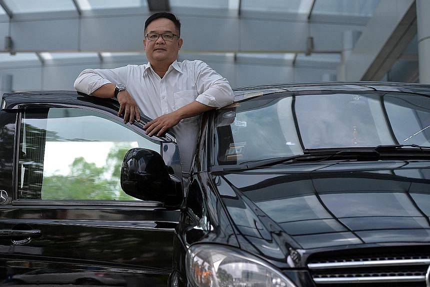 Mr Sun has been a freelance driver for nearly 10 years. The limousine van he uses to ferry tourists and visitors here on business or for events is like a second home to him as he often ends up sleeping in the vehicle.