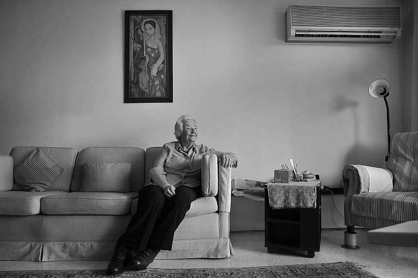 On April 13, Mrs Marshall turns 90. She lives in central Singapore in a comfortable apartment that she and her husband bought in 1993. She remembers Mr Marshall, in his last months, sitting where he could see sunbirds feed from a glass tube of honey