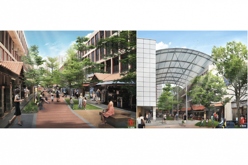 An artist's impression of the revamped Toa Payoh Town Centre.