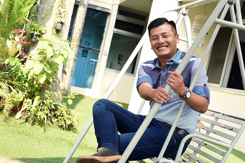 Despite growing up in a loving family, Mr Chin got hooked on smoking and glue sniffing early in his teens. He then relied on gang connections to get hold of stronger drugs and, at the height of his addiction, took drugs up to 15 times a day. He turne