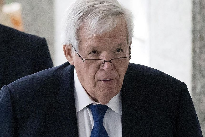 Hastert has been accused by federal prosecutors of sexually abusing five former high school students in Illinois from the 1960s to the early 1980s.