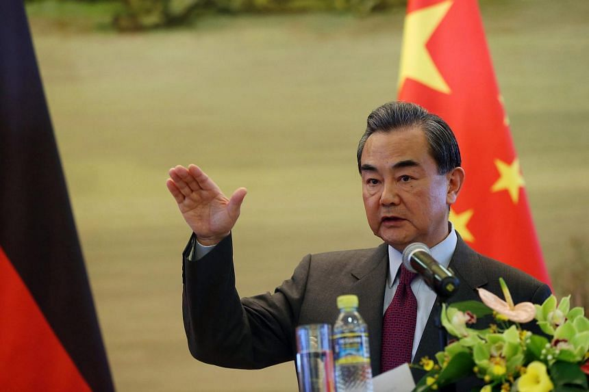 """Chinese Foreign Minister Wang Yi said last Saturday (April 9) that the G-7 meeting should not """"hype"""" up the South China Sea issue."""