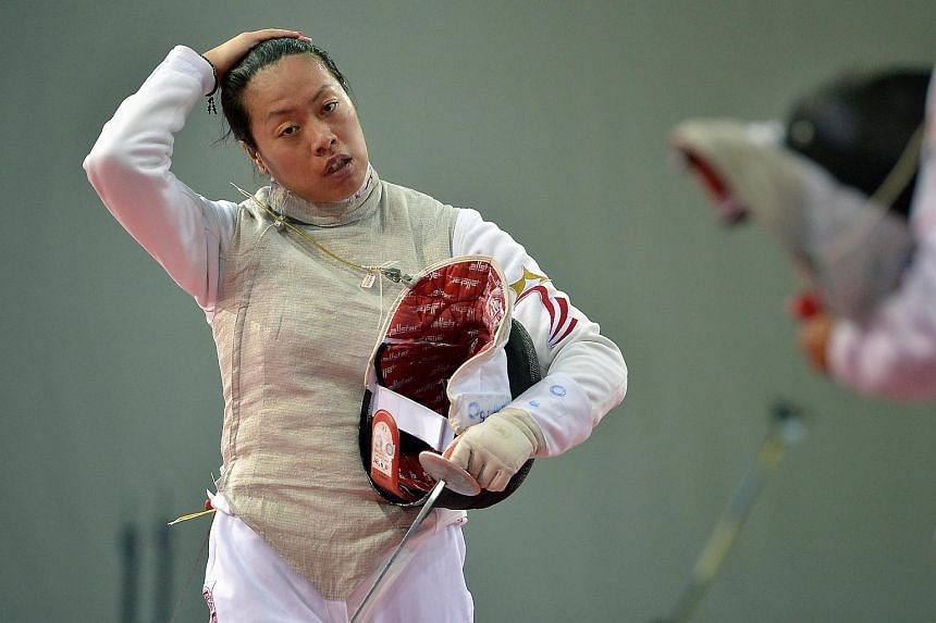 Singapore fencer Wang Wenying failed in her bid to qualify for the Olympic Games after she was knocked out of the Asia and Oceania Zonal Qualifiers.