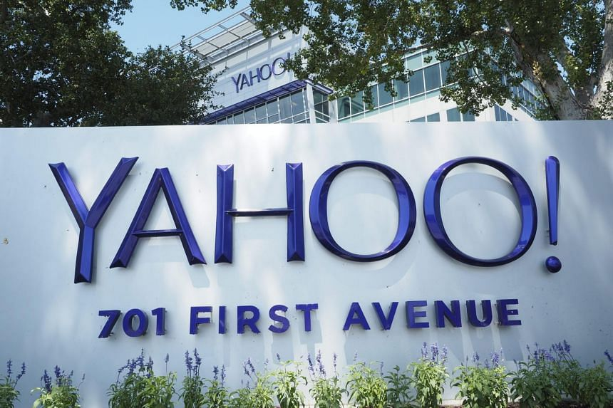 Yahoo! corporate headquarters and campus in Sunnyvale, California.
