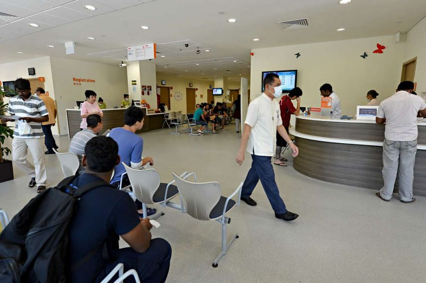 The accident and emergency (A&E) department at Khoo Teck Puat Hospital (KTPH).