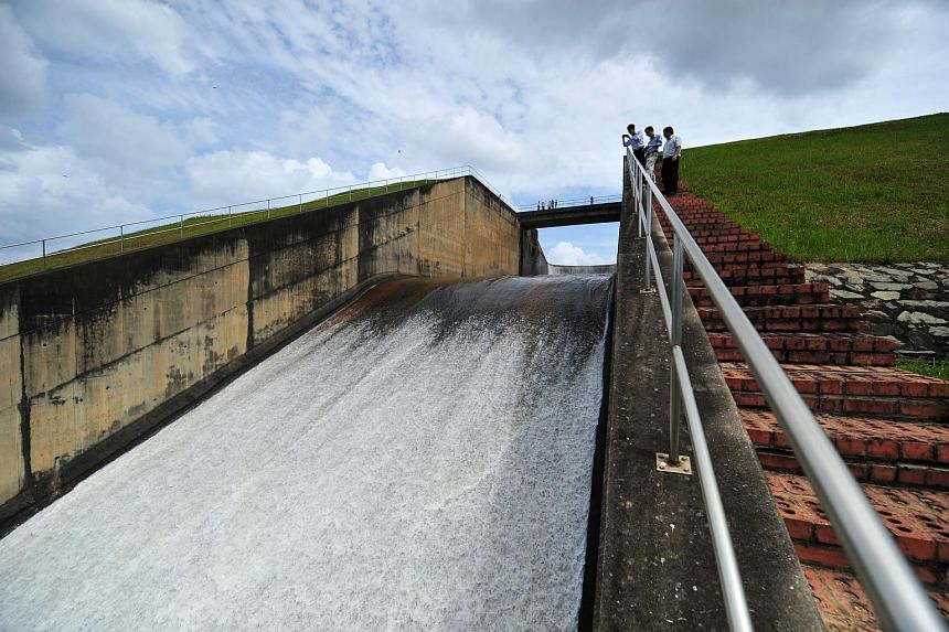 Dry weather has caused the water levels to fall from 80 per cent at the start of 2015 to current levels.