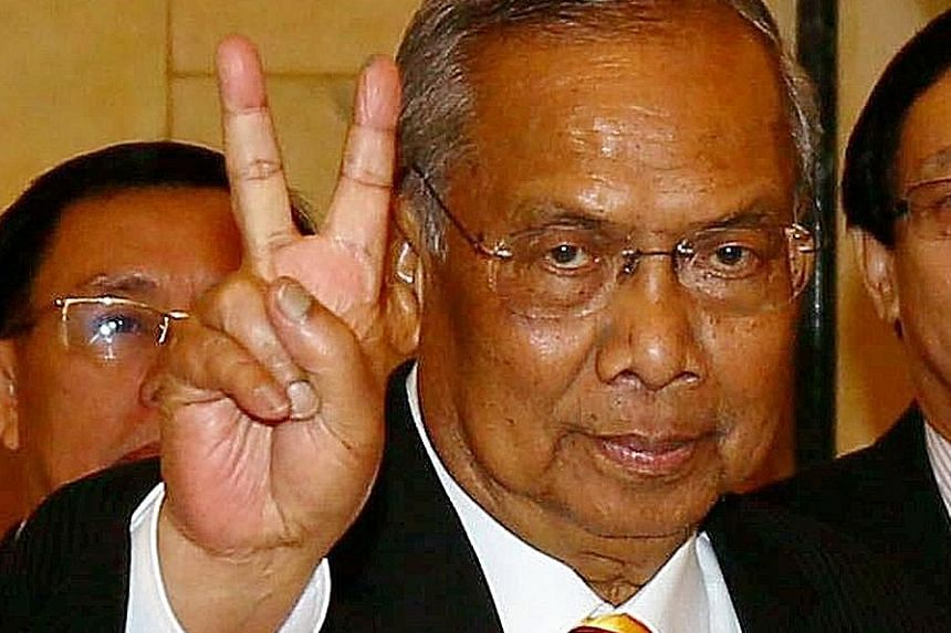 Sarawak has long been a BN stronghold and it will likely win the election easily because of the popularity of Tan Sri Adenan (left).
