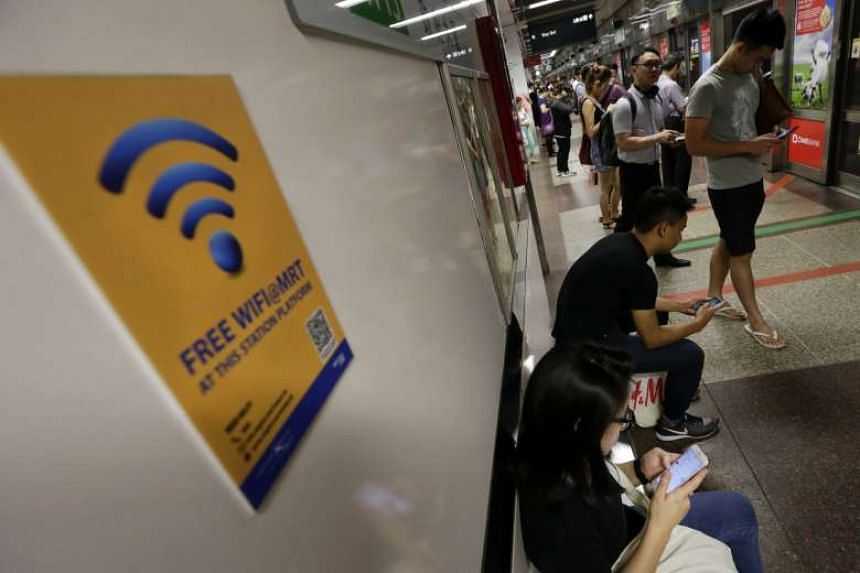 The number of Wireless@SG hot spots will double to 20,000 by 2018.
