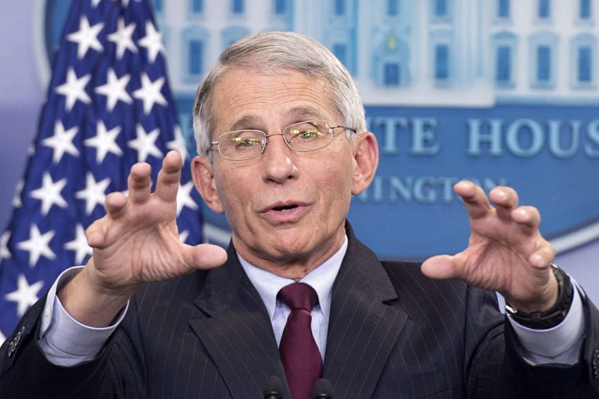 Director of the National Institute of Allergy and Infectious Diseases Anthony Fauci responds to questions regarding the Zika virus at the White House in Washington, DC.