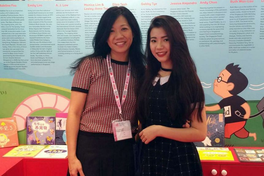Mother-daughter duo Eliza Teoh (left) and Gabby Tye (right).