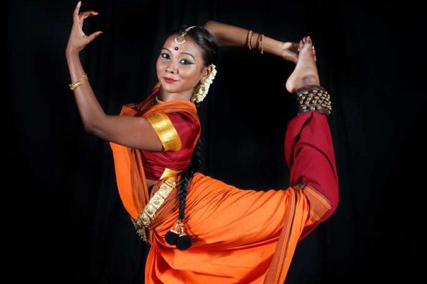 Sarenniya Ramathas, 22, found dancing in front of a big group terrifying at first, but soon fell in love with dance.