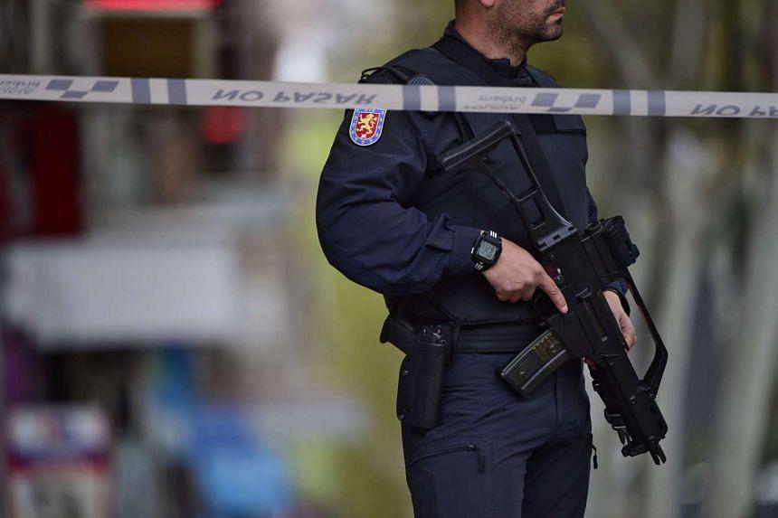 Spanish police detained suspected weapons trafficker Antoine Denevi on April 12, 2016.