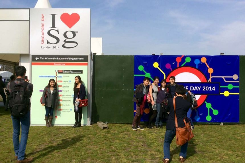 The Singapore Day event held at Victoria Park in London on 29 March 2014.