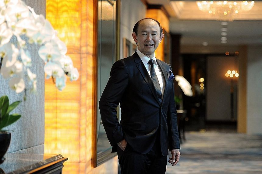 Mr Sunito plans to raise at least $500 million should Crown Group list in Singapore.