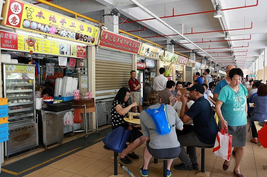 A committee is looking into ways to attract new hawkers, as the median age of cooked food hawkers is 59. It also wants to help hawkers be more productive, such as by using centralised dish-washing systems or buying and preparing ingredients in bulk.