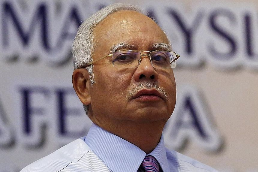 POLITICALLY MOTIVATED ALLEGATIONS: History will show that the shameful politically motivated allegations made to unseat a democratically elected government were false. - MALAYSIA'S PRIME MINISTER NAJIB RAZAK, lashing out at detractors of his manageme