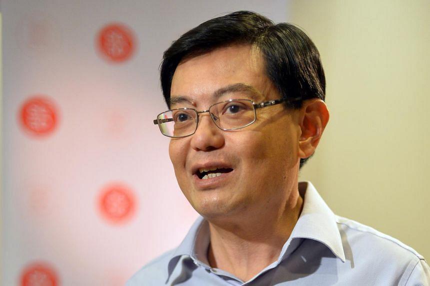 Minister for Finance Heng Swee Keat.