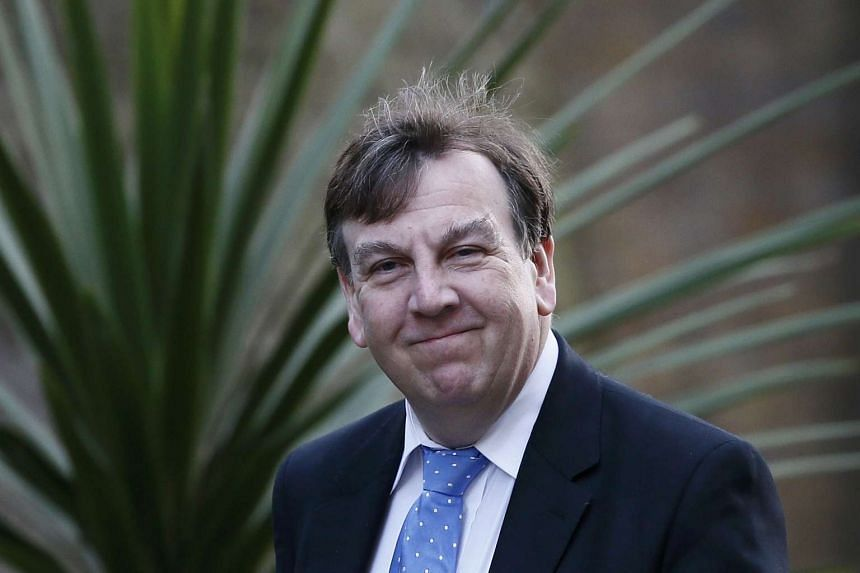 Britain's Culture Secretary, John Whittingdale, arrives to attend a cabinet meeting at Number 10 Downing Street in London.
