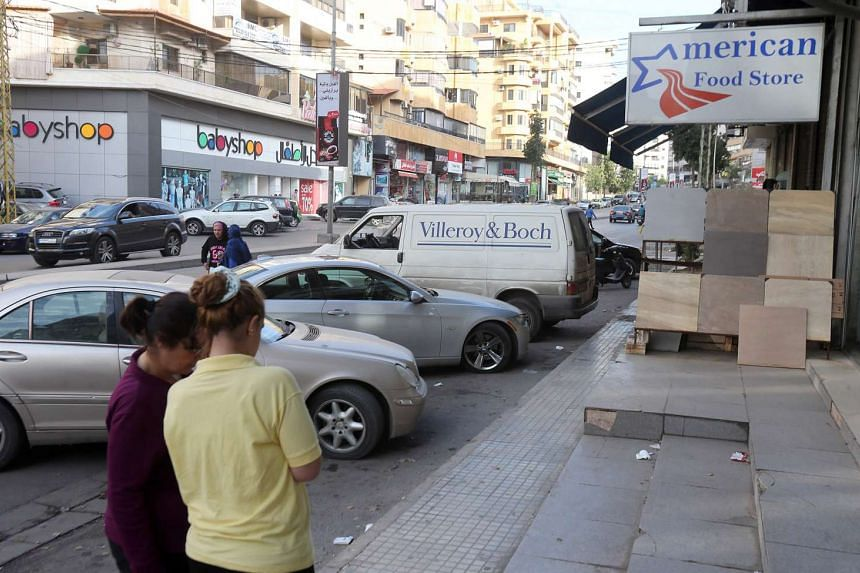 The place where two Australian-Lebanese children were abducted while reportedly with their grandmother at a southern Beirut suburb.