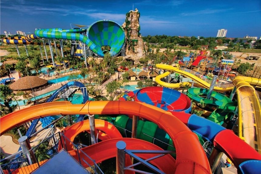 Vana Nava Hua Hin is a favourite waterpark among weekenders and thrill seekers.