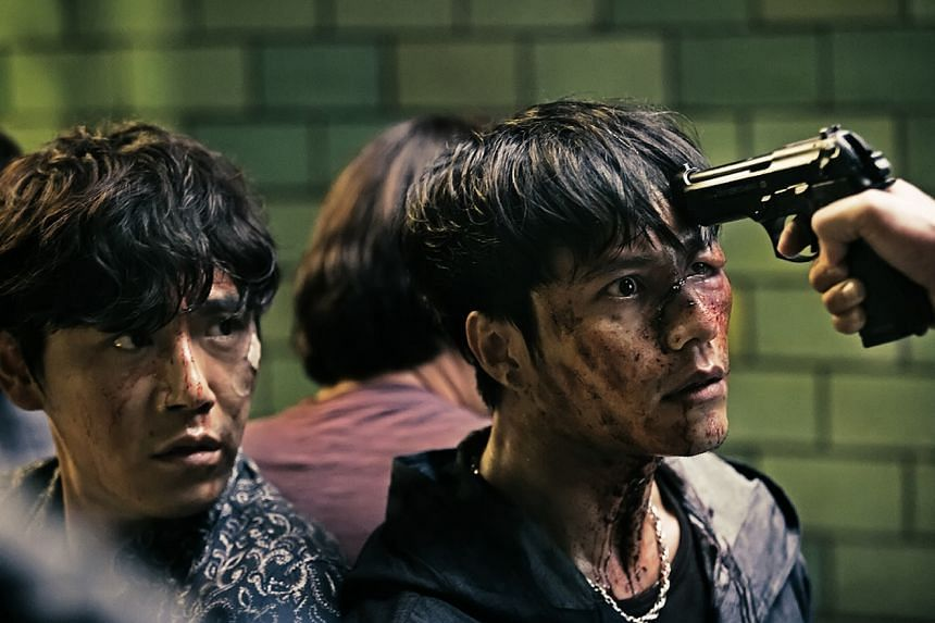 Chongqing Hotpot stars Qin Hao (left) and Chen Kun.