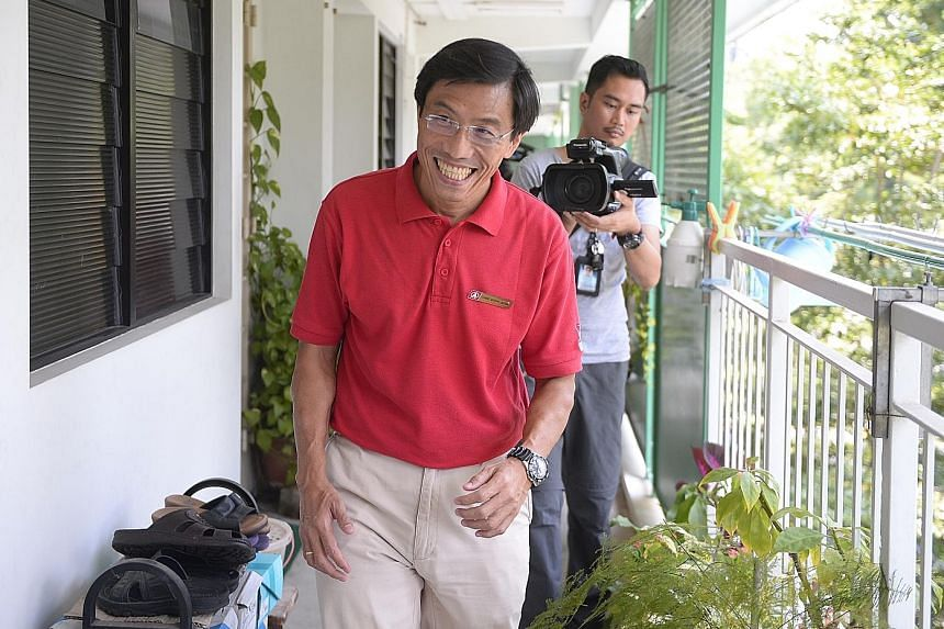 When asked how residents have taken to him, Dr Chee says they are generally polite but have complained about rising prices and how former MP David Ong initially did not provide a proper explanation of why he left.