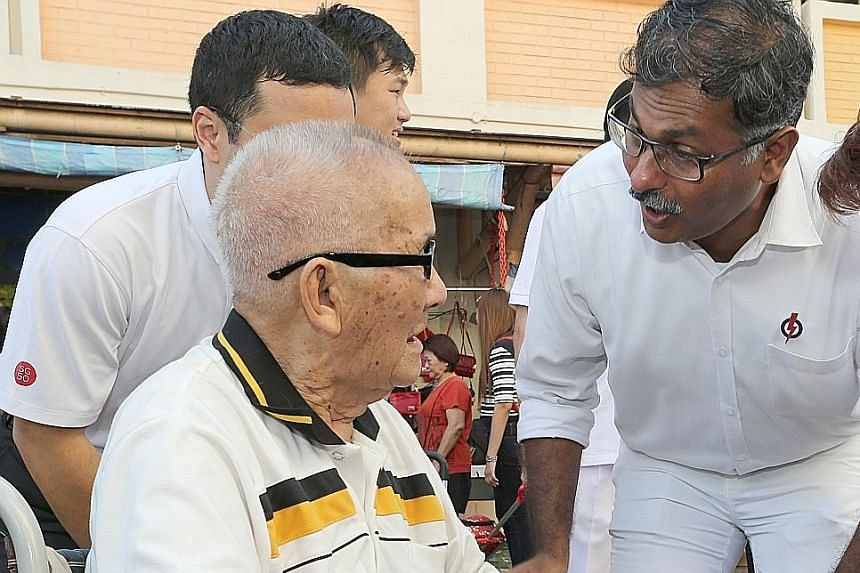 Since the announcement of his candidacy on March 21 for the Bukit Batok by-election, Mr Murali of the People's Action Party has been re-acquainting himself with residents.