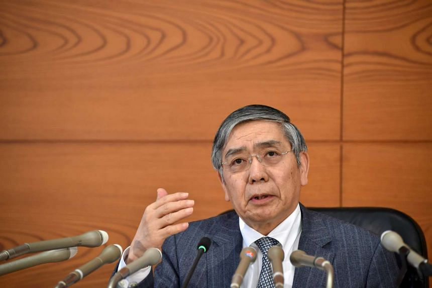 Bank of Japan Governor Haruhiko Kuroda said the central bank was ready to expand monetary stimulus again if weaknesses in inflation expectations persist.