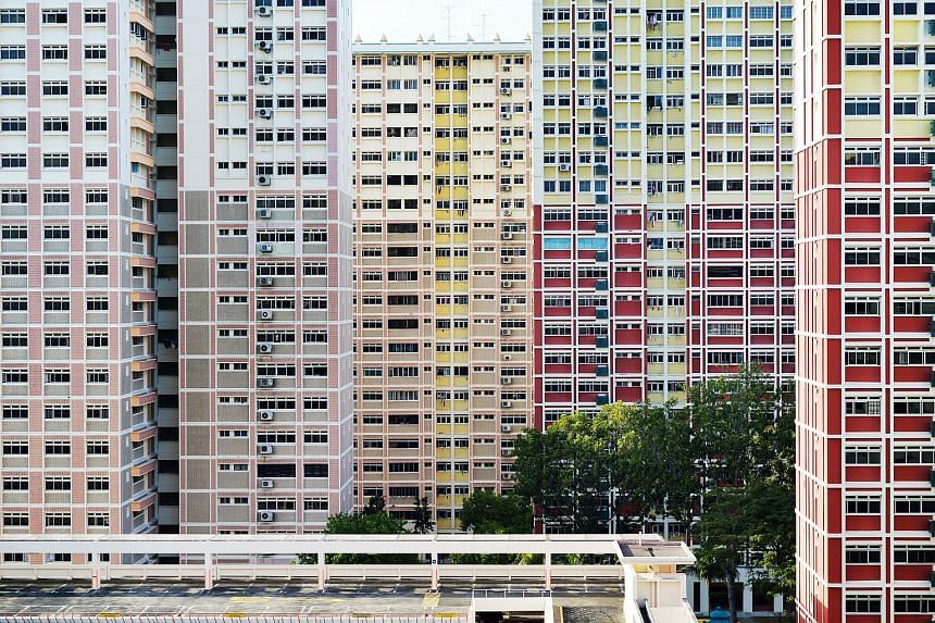 HDB flats in Bedok estate.