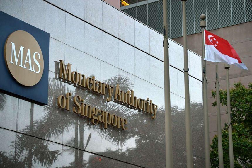 The Monetary Authority of Singapore (MAS) building.
