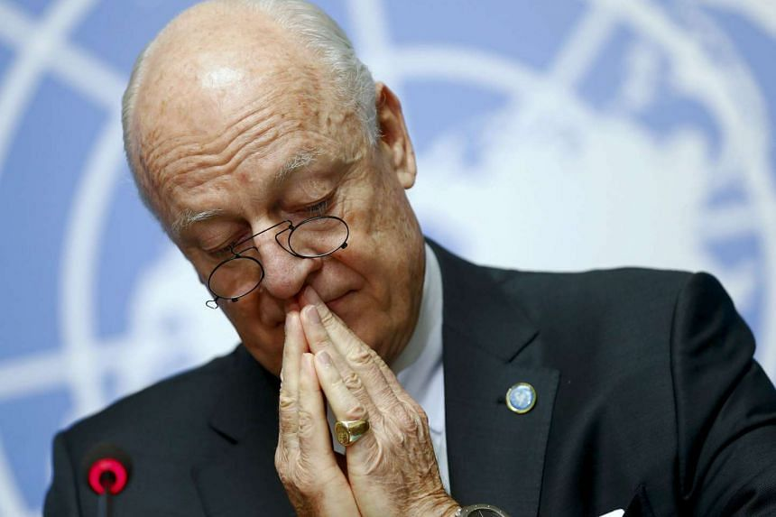 United Nations Syria envoy Staffan de Mistura has opened a new round of peace talks,