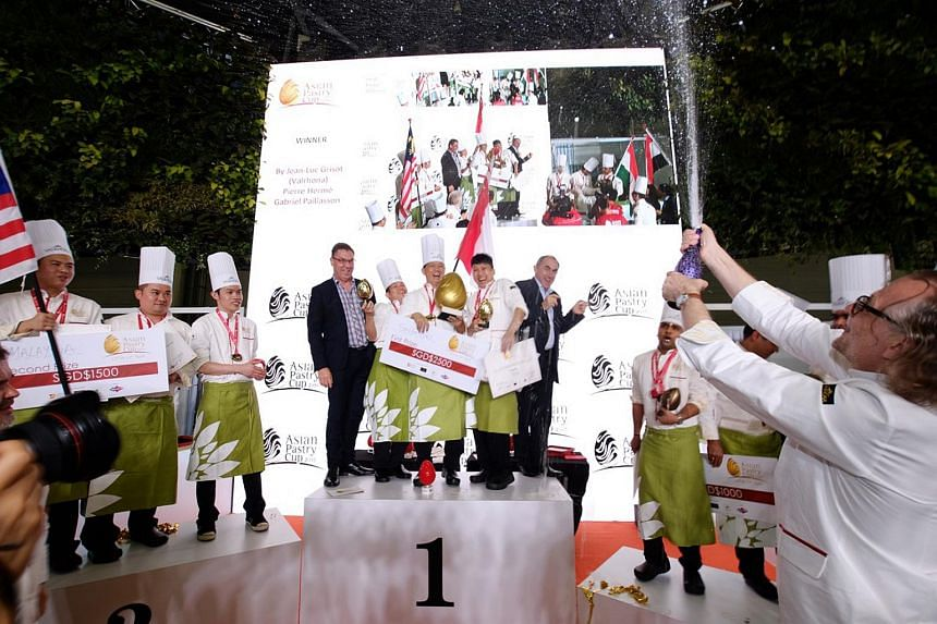 Team Singapore has hit the sweet spot, as they beat 10 other countries to emerge as this year's Asian Pastry Cup winner on Wednesday.