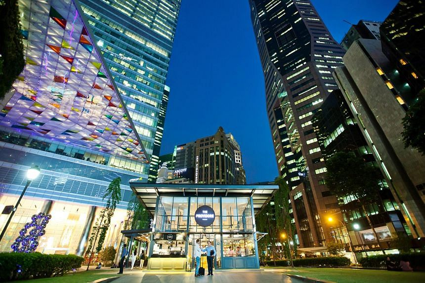 The Singapore economy grew by 1.8 per cent in the first quarter of the year.