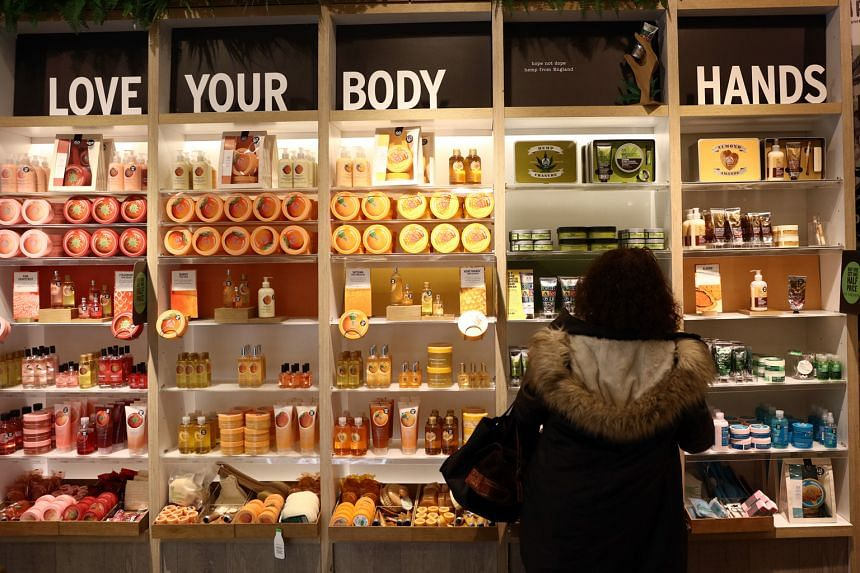 A Body Shop International store in London. The skincare chain's operating margin reached a seven-year low last year.