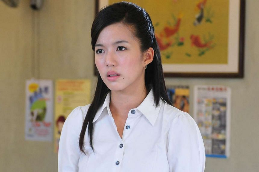 Rui En (above) has been forgiven by the owner of the motorcycle that was hit by her car.