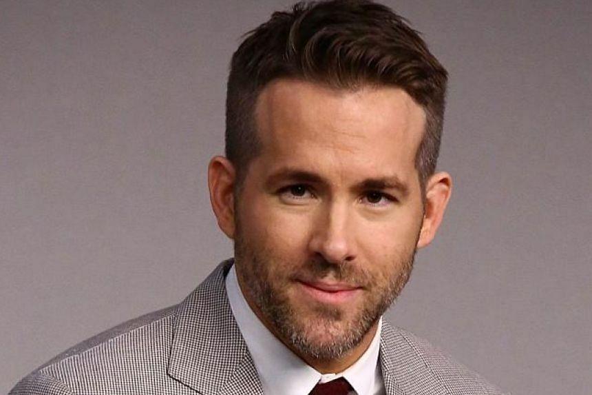 Actor Ryan Reynolds, husband of actress Blake Lively