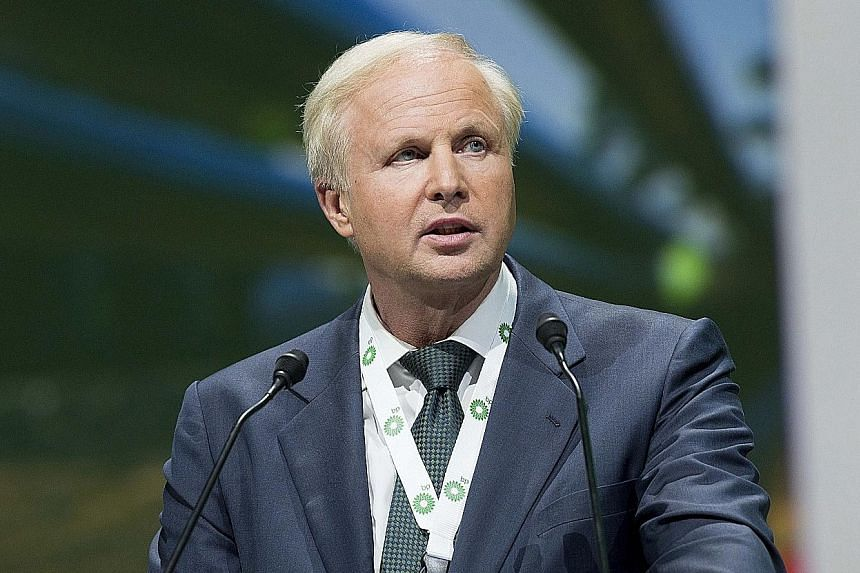 Sharp falls in the price of oil led to more than 5,000 job losses at BP last year. Despite the company recording its biggest annual loss in 2015, chief executive Bob Dudley (above) was due to receive 20 per cent more in remuneration than in 2014.