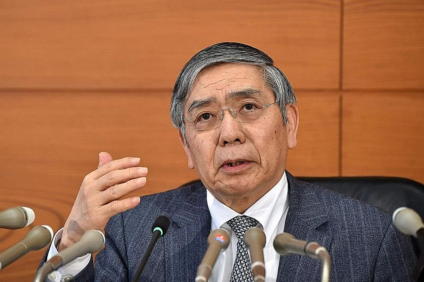 Bank of Japan governor Haruhiko Kuroda says he is confident that the bank's current policies will spur inflation in time.