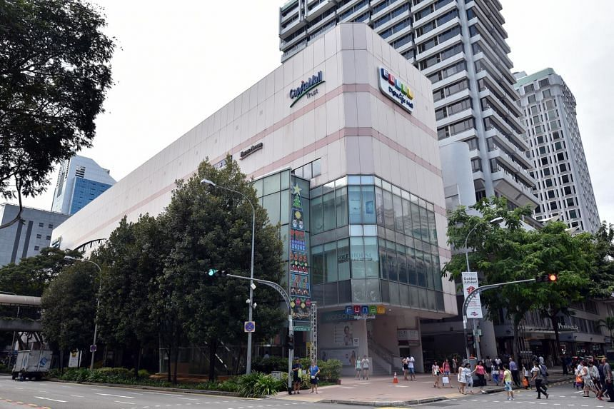 Facade of the Funan DigitaLife Mall at North Bridge Road.