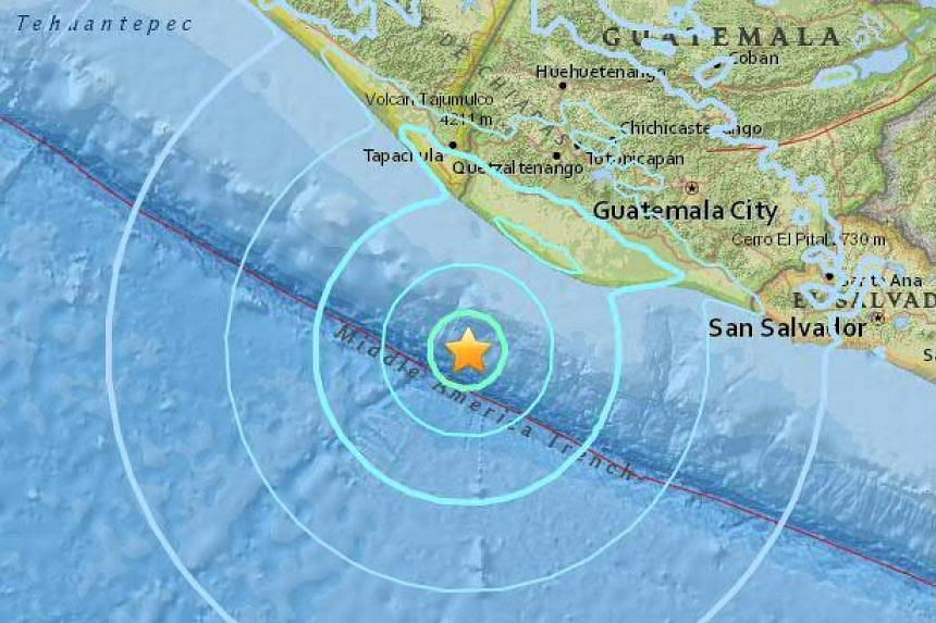 A magnitude-6.1 earthquake struck off Mexico's southern Pacific coast on April 15, 2016.