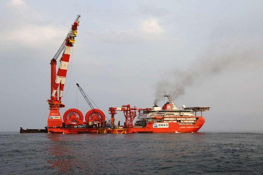 Ezra Holdings' Lewek Constellation vessel.