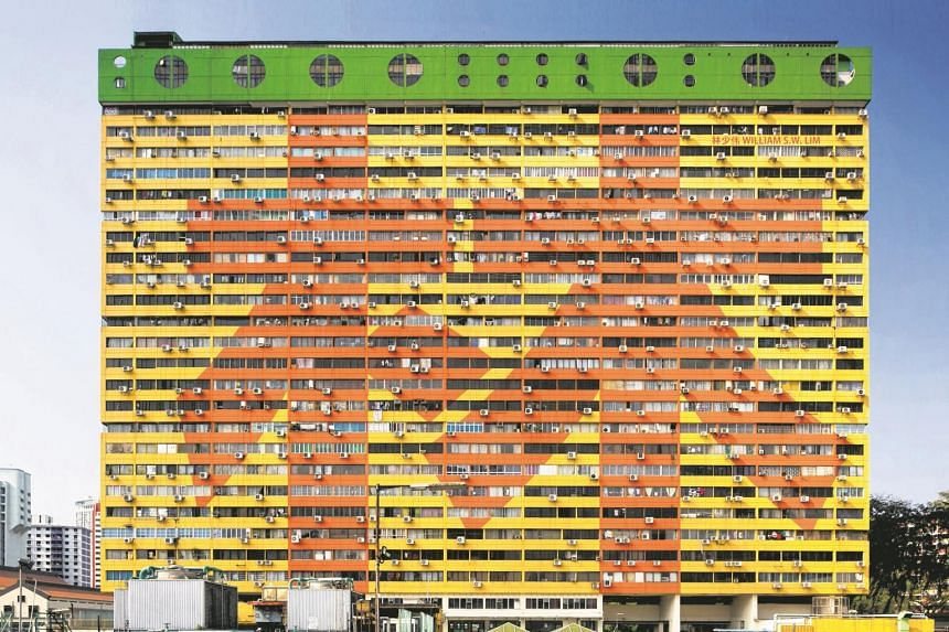 People's Park Complex is one of the buildings photographed as part of the Urban Fork Exhibition as part of Voilah!